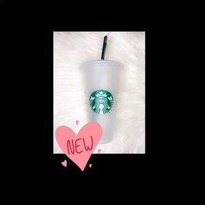 Starbucks reuseable cold cup